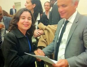 Alessandra Nilo y Luiz Loures