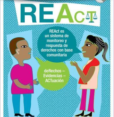 La HIV/AIDS lanzó guía REAct