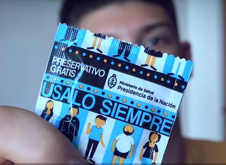 """Campaña """"USALO SIEMPRE"""": preservativo"""